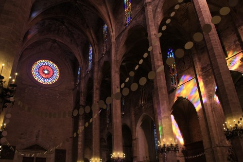 la seu palma mallorca windows 500x333 - Top 10 things to do in Palma de Mallorca, Spain: Around The World