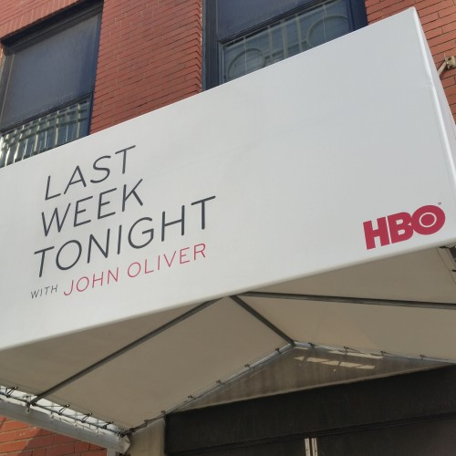 last week tonight john oliver 500x500 - One busy day in New York City: Bronx Brewery, Yankees, Last Week Tonight & more