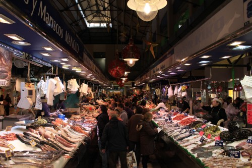 mercat del olivar 500x333 - Top 10 things to do in Palma de Mallorca, Spain: Around The World