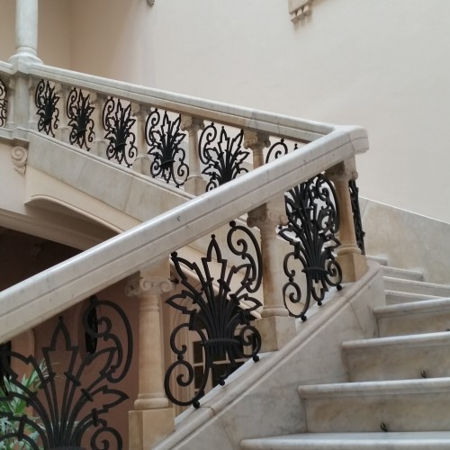 museum juan march staircase 500x500 - Top 10 things to do in Palma de Mallorca, Spain: Around The World