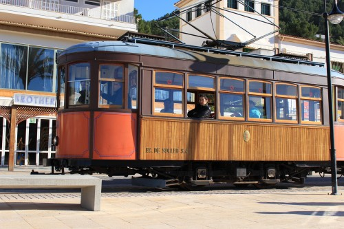 soller tram 500x333 - A day trip from Palma to Soller, Mallorca, Spain