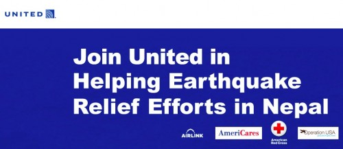 united miles nepal earthquake 500x217 - Get United miles for donating to Nepal earthquake relief plus help map the damage