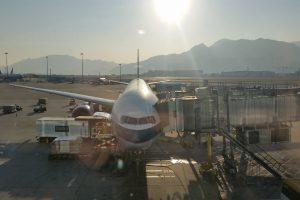 cathay pacific 777 hong kong 300x200 - Cathay Pacific Business Class 777-300 Hong Kong HKG to Tokyo Narita NRT: Around The World