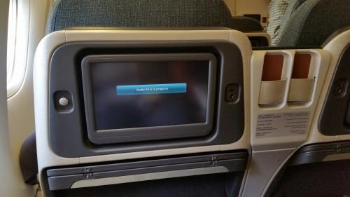 cathay pacific 777 regional business class screen 500x281 - Cathay Pacific Business Class 777-300 Hong Kong HKG to Tokyo Narita NRT: Around The World