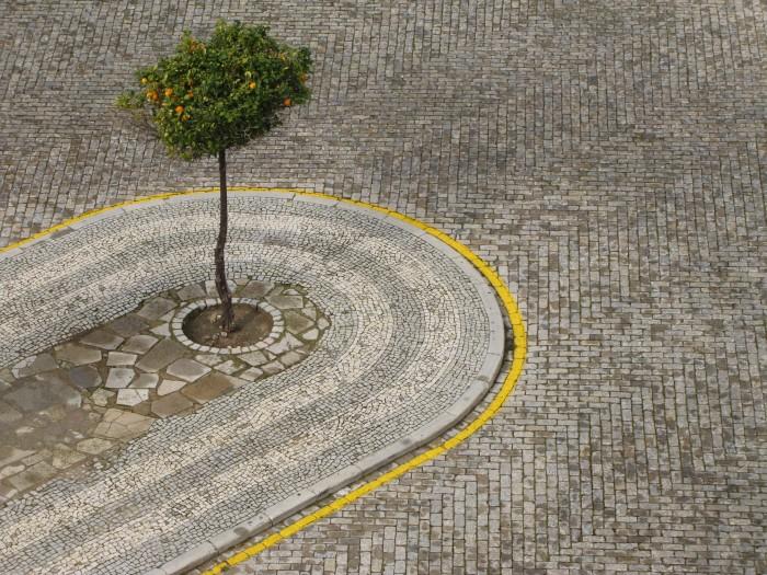 faro portugal cobblestones 700x525 - Photo of the Day: Street mosaic, Faro, Portugal