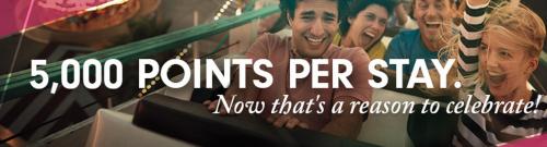 hilton free bonus points 5000 500x135 - Get 5,000 bonus points per Hilton stay through July 6th