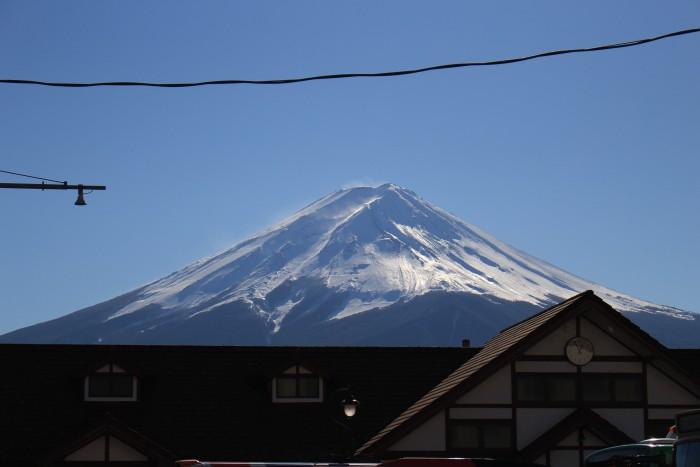 kawaguchiko station mt fuji 700x467 - A day trip to Mt. Fuji & Kawaguchiko from Tokyo, Japan