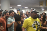 "lion king aladdin laguardia airport 150x100 - Broadway casts of ""The Lion King"" & ""Aladdin"" hold sing-off during 6-hour delay at New York LaGuardia Airport"