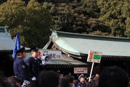 meiji jingu shrine new year 500x333 - A New Year Hatsumode visit to Meiji Jingu shrine in Tokyo, Japan