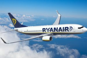 ryanair plane 300x200 - Man changes name to Adam West to avoid Ryanair name change fee