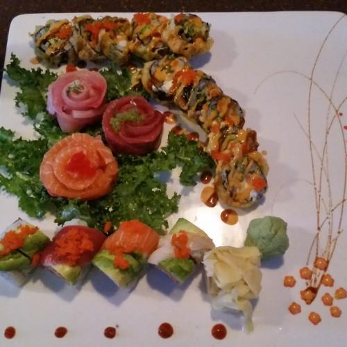 sake sushi pittsburgh 500x500 - Hyatt House Pittsburgh South Side: Hotel Review