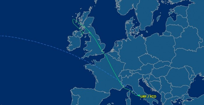 united flight diverted to bellfast 700x362 - United passengers forced to sleep in Belfast airport after disruptive passenger diverts flight