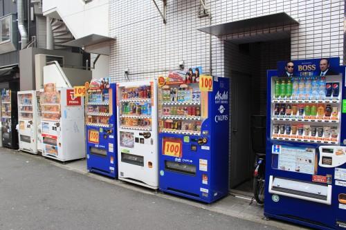 vending machines japan tokyo 500x333 - Exploring Shinjuku, Harajuku, & Shibuya - Tokyo, Japan