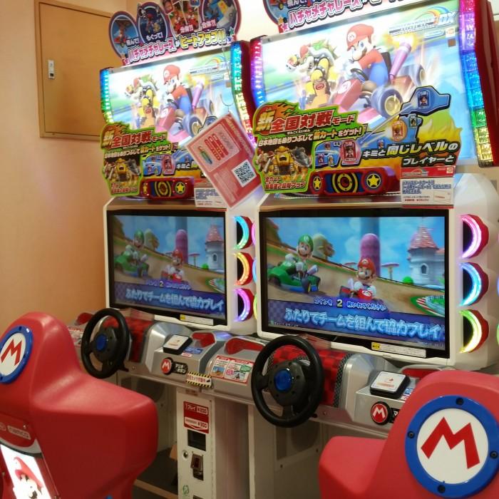 mario kart arcade 700x700 - Exploring the toilets, arcades, & Robot Restaurant in Shinjuku - Tokyo, Japan