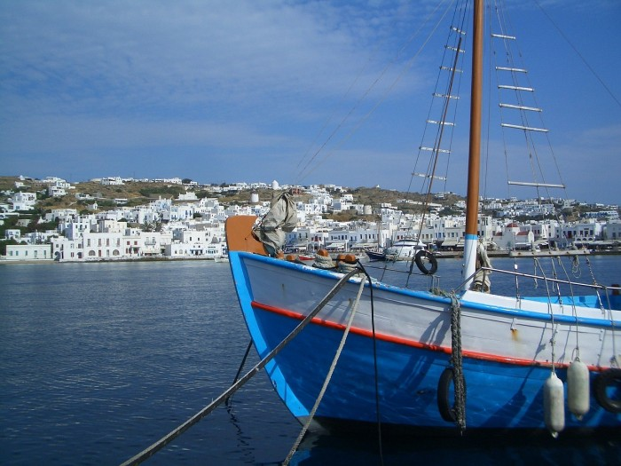 mykonos greece 700x525 - Travel Contests: April 27, 2016 - Greece, Bahamas, Ireland & more