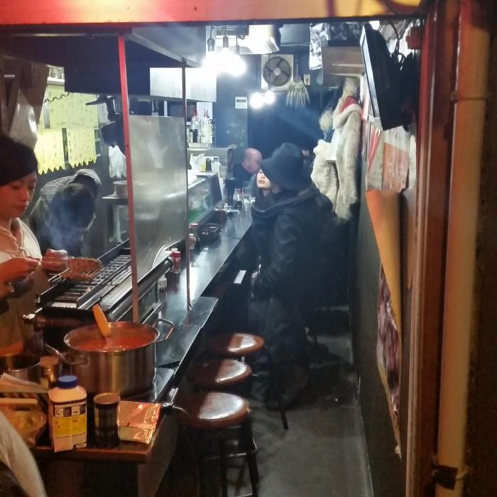 omoide yokocho restaurant 700x700 - A day trip to Mt. Fuji & Kawaguchiko from Tokyo, Japan