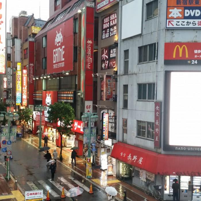 taito station shinjuku 700x700 - Exploring the toilets, arcades, & Robot Restaurant in Shinjuku - Tokyo, Japan
