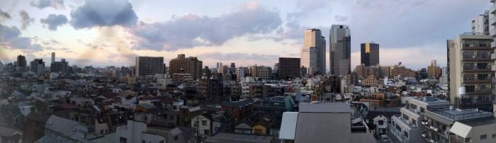 tokyu stay nishi shinjuku view 700x202 - Tokyu Stay Nishi Shinjuku hotel review: Around The World