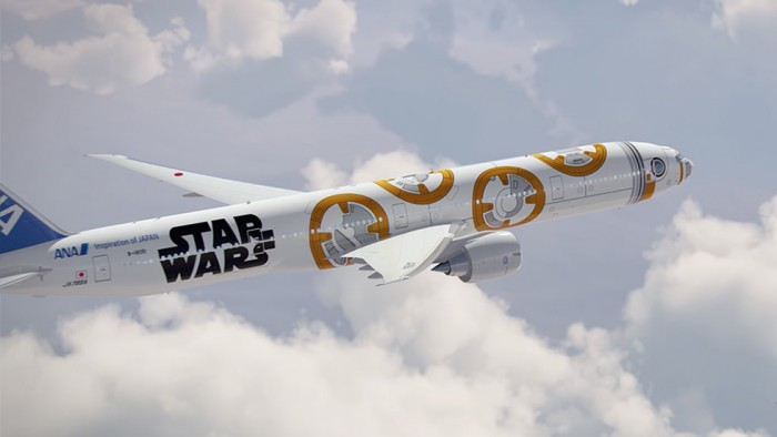 ana star wars bb8 700x394 - ANA announces two more Star Wars planes, plus flight schedule