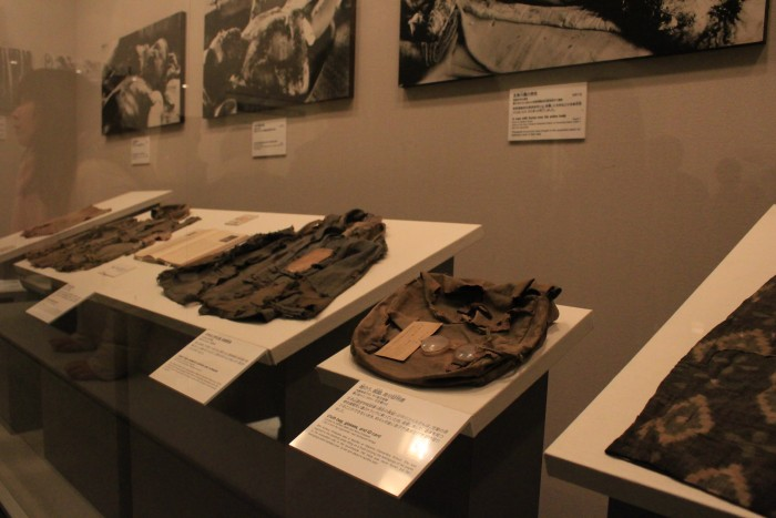 atomic bomb artifacts 700x467 - A day trip to Hiroshima from Kyoto, Japan