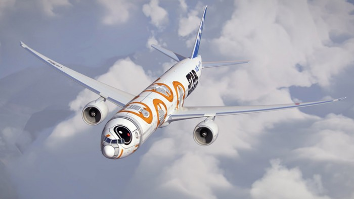 bb8 plane ana star wars 700x394 - ANA announces two more Star Wars planes, plus flight schedule