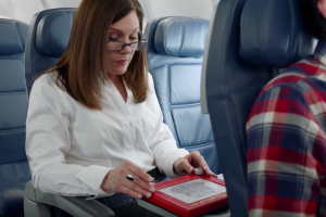 delta safety video etch a sketch 300x200 - Another new inflight safety video from Delta