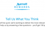 free marriott points 150x100 - 100 quick free Marriott Rewards points for filling out a survey