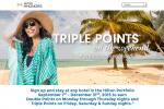 hilton fall 2015 promo 150x100 - Hilton announces Fall 2015 promo - Triple Your Trip - double or triple Hilton points!