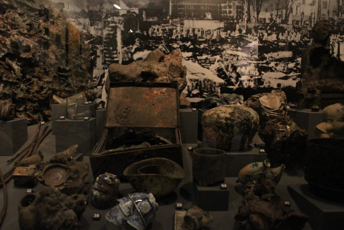 hiroshima atomic bomb artifacts 700x467 - A day trip to Hiroshima from Kyoto, Japan