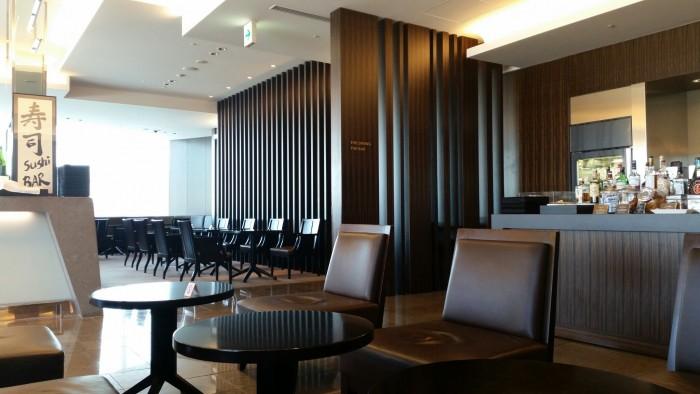 jal lounge tokyo narita 700x394 - Japan Airlines First Class Lounge Tokyo Narita NRT review: Around The World