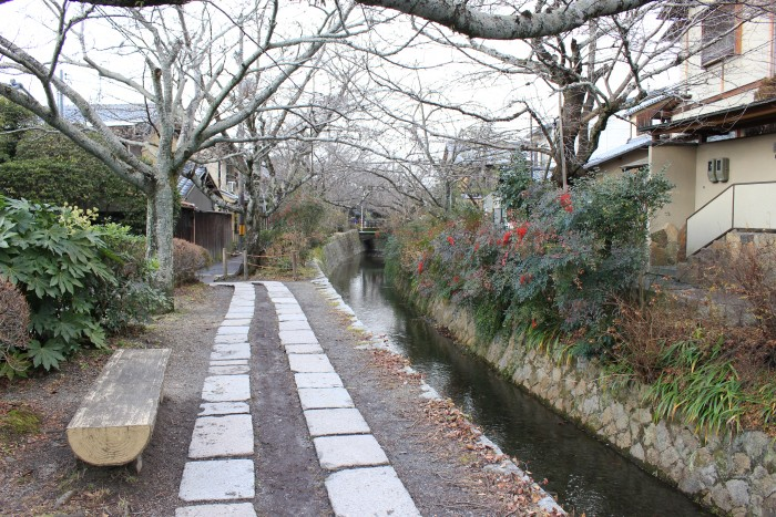 philosophers walk kyoto 700x467 - A visit to Imperial Palace, Philosopher's Walk, Ginkakuji Temple + eating at one of the world's oldest restaurants in Kyoto, Japan