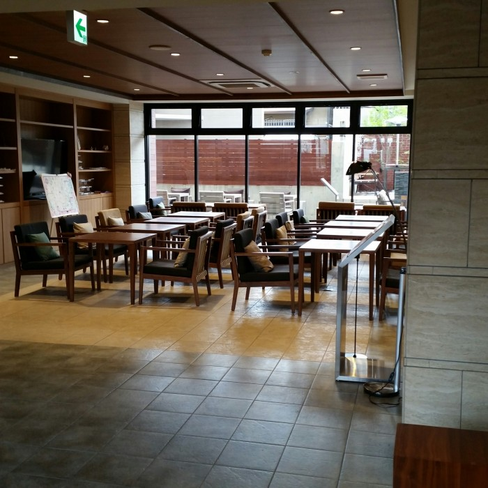 sakura terrace lounge 700x700 - Sakura Terrace Kyoto hotel review: Around The World