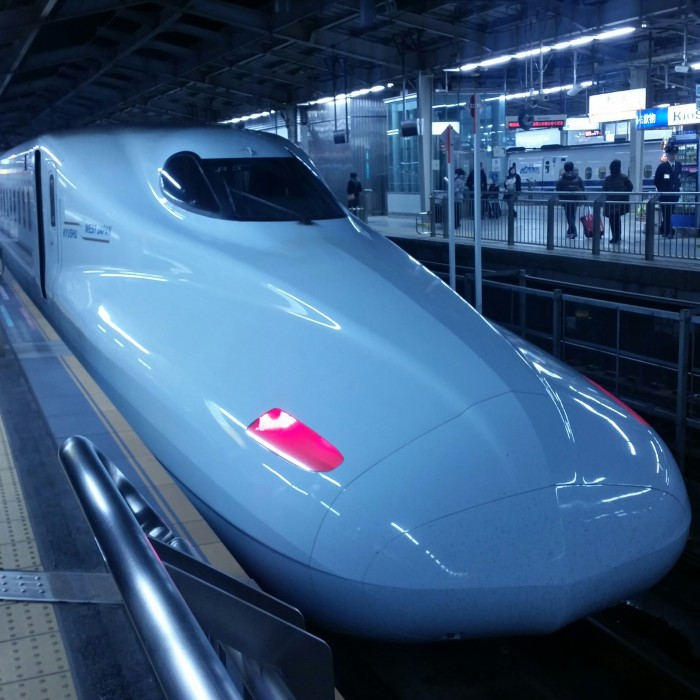 shinkansen japan 700x700 - Japan Rail Pass, Shinkansen, & Narita Express train reviews
