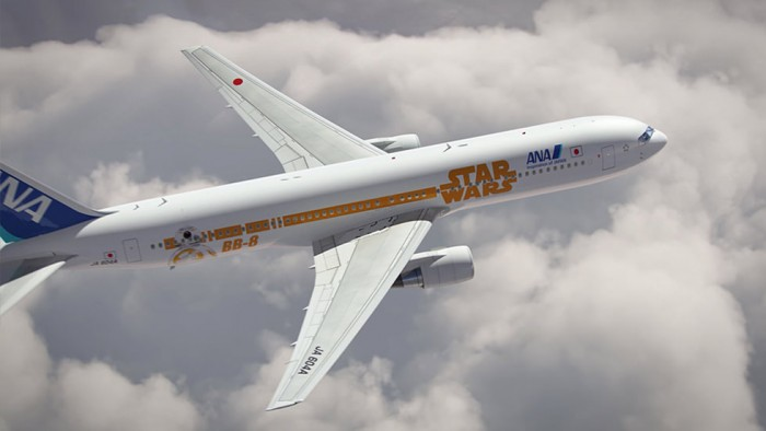 star wars bb 8 plane ana 700x394 - ANA announces two more Star Wars planes, plus flight schedule