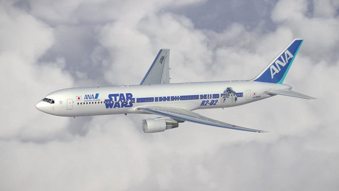 star wars r2d2 ana plane 700x394 - ANA announces two more Star Wars planes, plus flight schedule