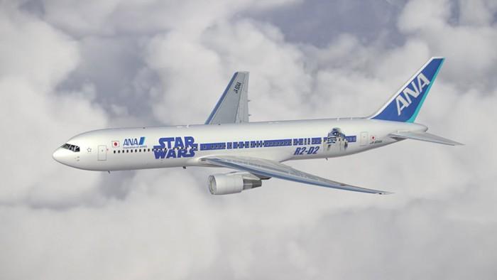 star wars r2d2 ana plane 700x394 - ANA announces two more Star Wars planes, plus flight schedule