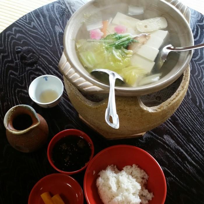 yudofu 700x700 - A visit to Ryoanji Temple, Kinkaku Temple, & Fushimi Inari Shrine + eating takoyaki & okonomiyaki in Kyoto, Japan