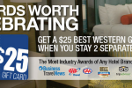 best western fall 2015 promotion 150x100 - Best Western Fall 2015 promo: Get a $25 gift card after two stays