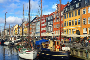 nyhavn copenhagen 300x200 - Travel Contests: January 2, 2019 - Copenhagen, Bali, the Bahamas, & more