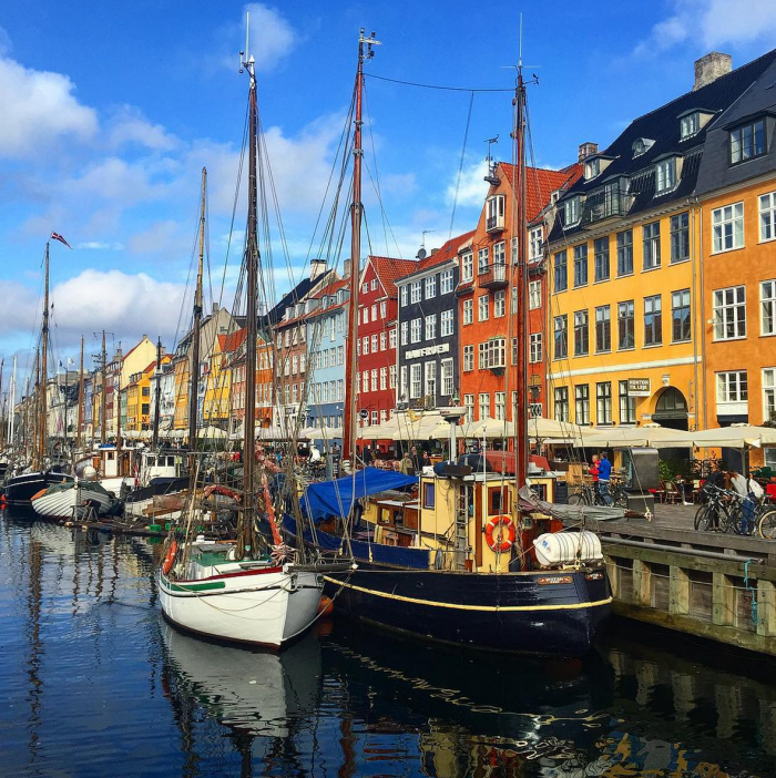 nyhavn copenhagen 700x702 - Travel Contests: January 2, 2019 - Copenhagen, Bali, the Bahamas, & more