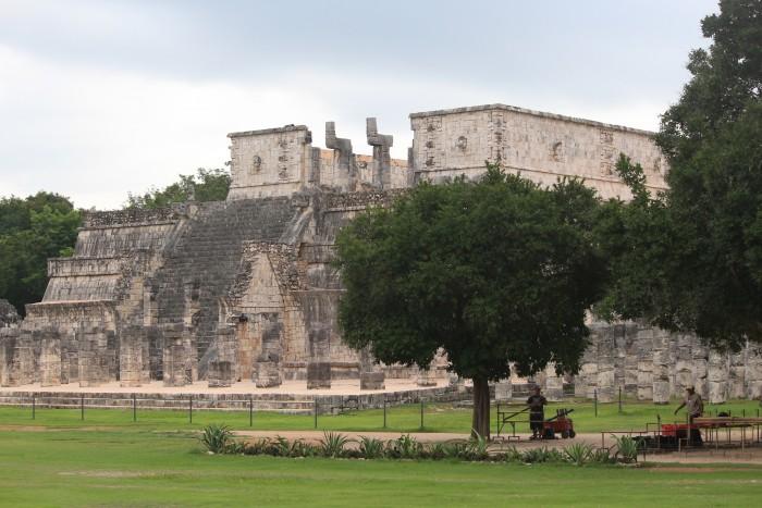 chichen itza morning 700x467 - Hotel Villas Arqueologicas Chichen Itza, Mexico review