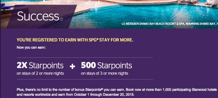 fall 2015 starwood promo 700x315 - Starwood Fall 2015 Stay For More promotion details