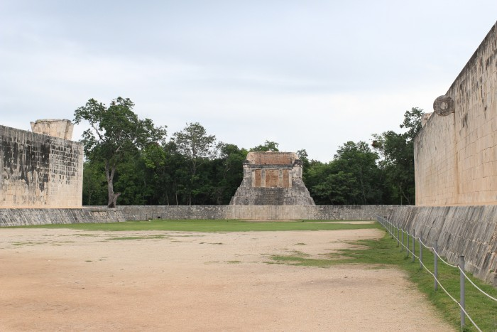 great ballcourt 700x467 - 24 hours in Cancun, Mexico – A trip to Chichen Itza