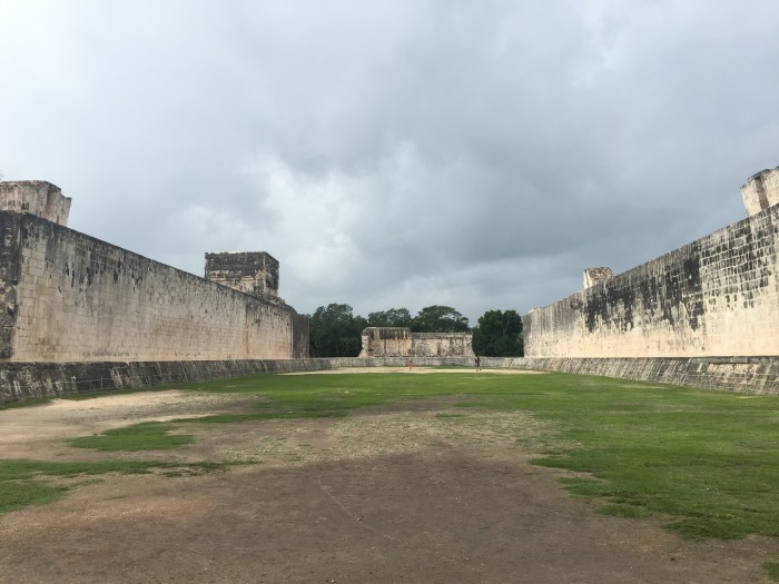 great ballcourt chichen itza 700x525 - 24 hours in Cancun, Mexico – A trip to Chichen Itza
