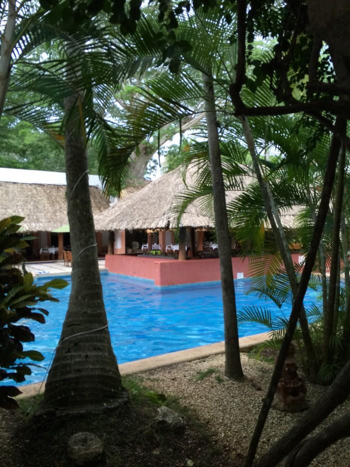 hotel villas arqueologicas pool 700x933 - Hotel Villas Arqueologicas Chichen Itza, Mexico review