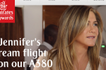 jennifer aniston emirates 150x100 - Emirates releases new ad featuring Jennifer Aniston