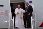 pope francis american 150x100 - Video: Behind-the-scenes of the Pope flying on American Airlines' 777-200