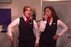 snl delta airlines 300x200 - SNL airs Delta Airlines sketch: Video
