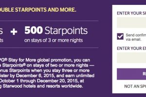 starwood fall 2015 promo 300x200 - Starwood Fall 2015 Stay For More promotion details