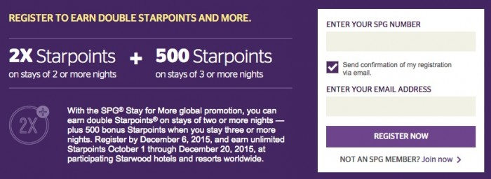 starwood fall 2015 promo 700x256 - Starwood Fall 2015 Stay For More promotion details